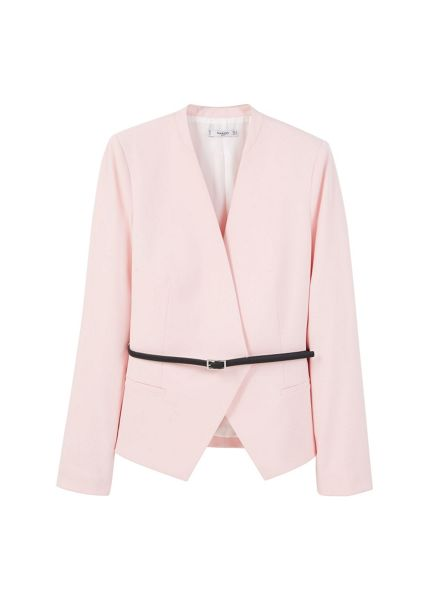 Mango Belt structured blazer