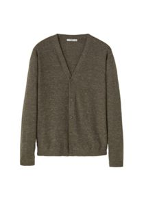 Mango Flecked fine-knit cardigan