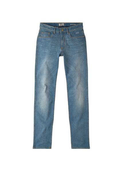 Mango Slim-fit light wash Tim jeans