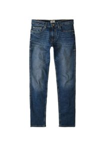 Mango Slim-fit dark wash Tim jeans