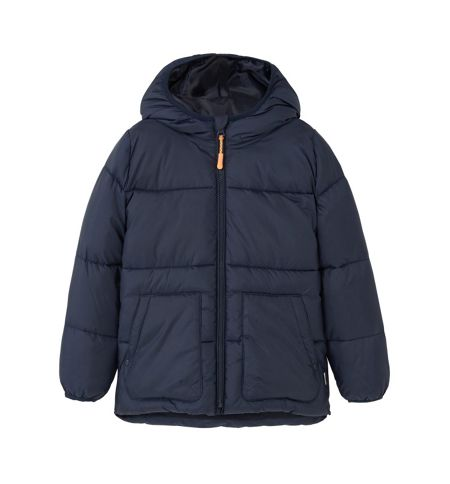 Mango Boys Hood quilted coat