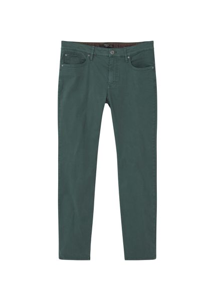 Mango Slim-fit 5 pocket garment-dyed trousers