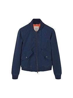 Pocket cotton bomber jacket