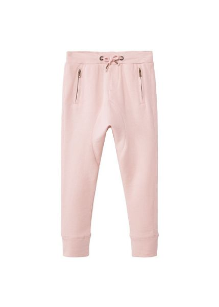 Mango Girls Zip jogging trousers