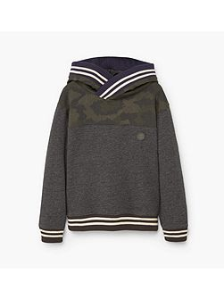 Boys Contrasting design sweatshirt