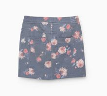 Mango Girls Pocket cotton-blend skirt