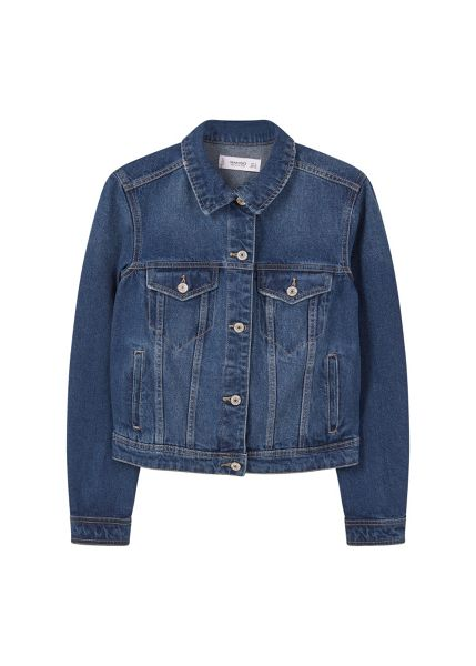 Mango Dark denim jacket