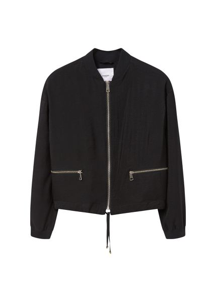 Mango Zipped bomber jacket