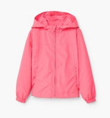 Mango Girls Raincoat hooded jacket