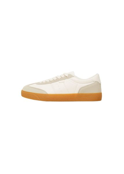 Mango Suede panels sneakers