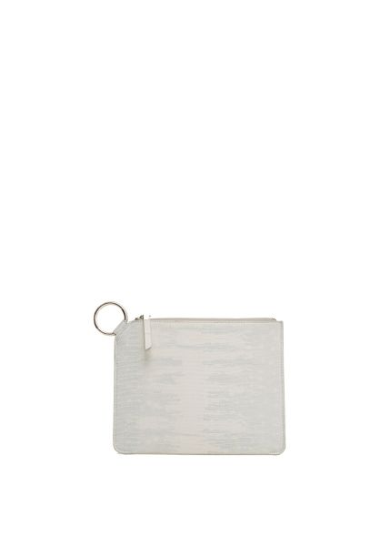Mango Zip Clutch