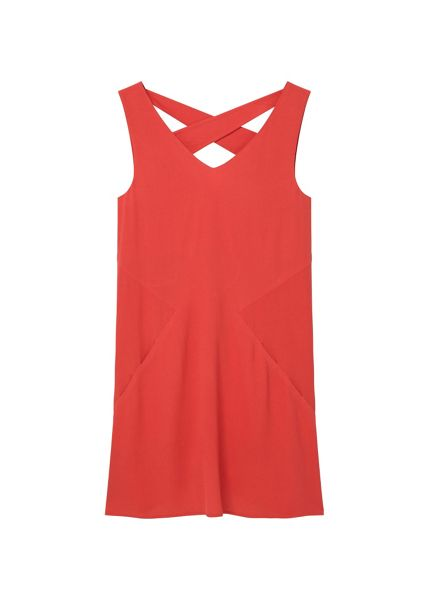 Mango Wrap back dress