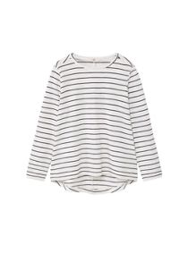 Mango Girls Striped cotton t-shirt