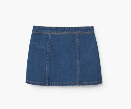 Mango Girls Medium denim skirt