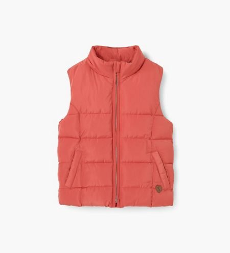 Mango Girls Hooded quilted gilet