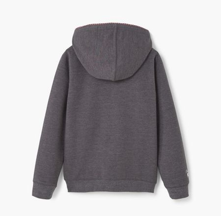 Mango Girls cotton Zip-Up Hoody