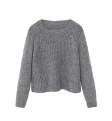 Mango Girls Cable Knit Jumper