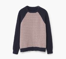 Mango Boys Elbow-patch cotton sweater