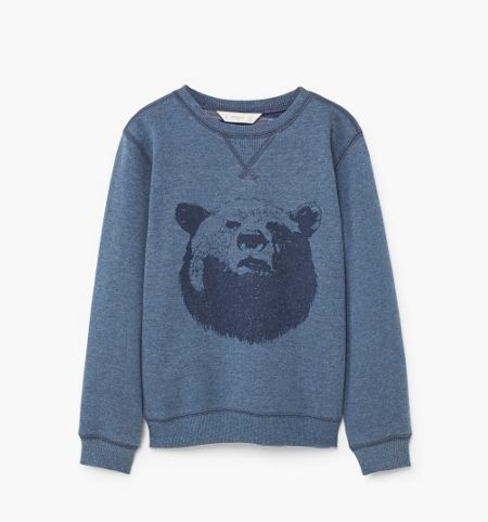 Mango Boys Bear Sweatshirt