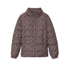 Mango Girls Printed quilted coat