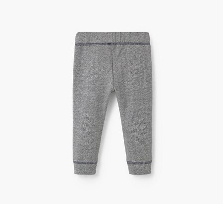 Mango Zig-Zag Cotton Trousers