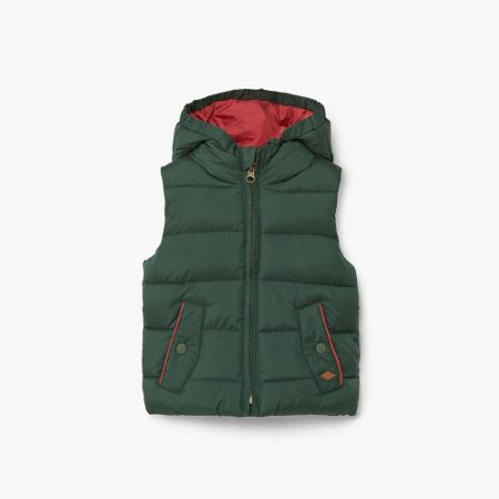 Mango Baby hooded quilted gilet