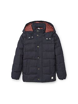 Boys Quilted denim style jacket