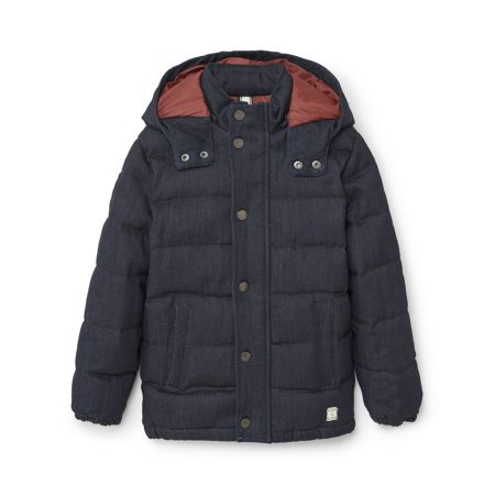 Mango Boys Quilted denim style jacket