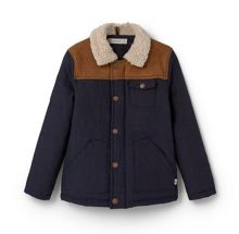 Mango Boys Faux shearling jacket
