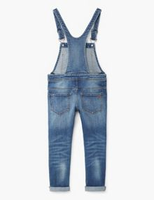 Mango Girls Medium denim dungarees