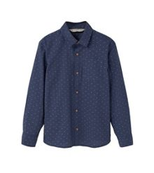 Mango Boys Chest-pocket cotton shirt