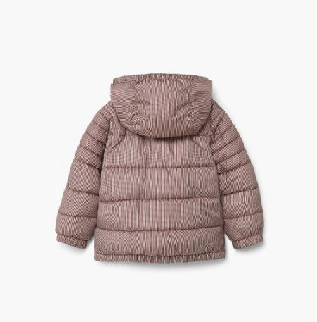 Mango Hood quilted coat