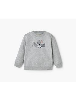 Cartoon cotton sweatshirt