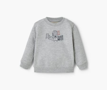 Mango Cartoon cotton sweatshirt