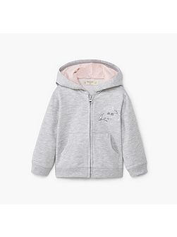 Baby Cotton Zip-Up Hoody