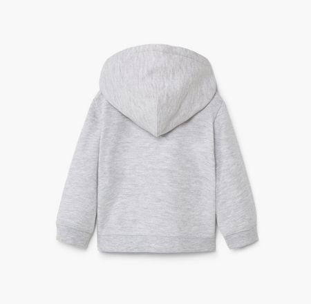Mango Baby Cotton Zip-Up Hoody