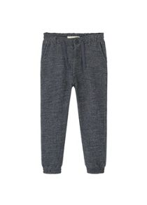 Mango Boys Flecked cotton trousers