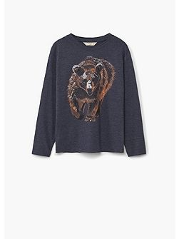Boys Cotton Bear t-shirt