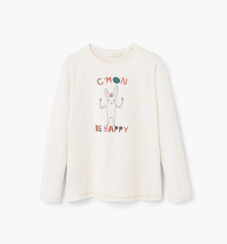 Mango Girls Image cotton t-shirt