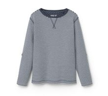 Mango Boys Striped cotton t-shirt