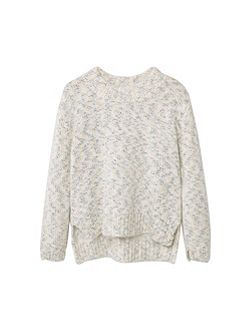 Girls Flecked sweater