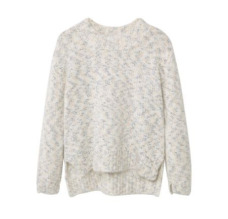 Mango Girls Flecked sweater