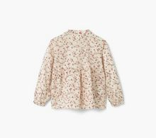 Mango Floral cotton blouse