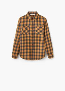 Mango Boys Check cotton shirt