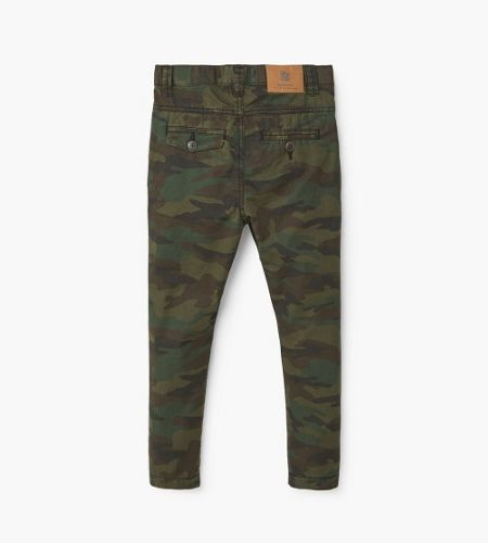 Mango Boys Camo-print trousers