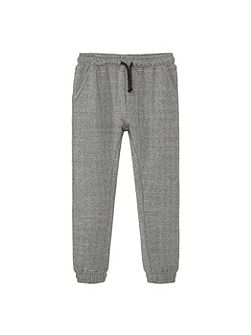 Boys Flecked jogging trousers
