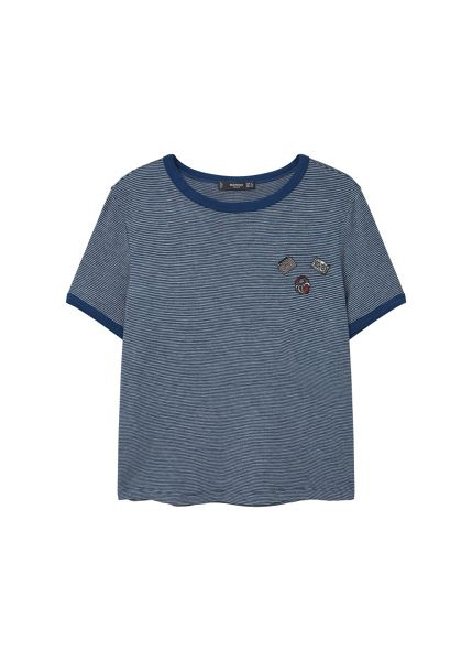 Mango Decorative patches t-shirt