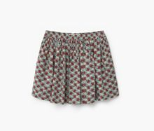 Mango Girls Floral print skirt