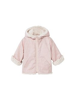 Baby Faux Shearling Lined Coat