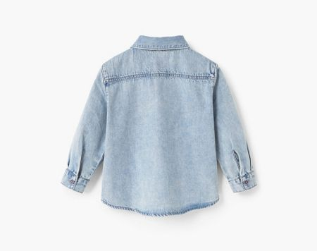 Mango Baby Denim Shirt